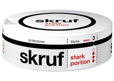 Skruf Strong Portion Snus