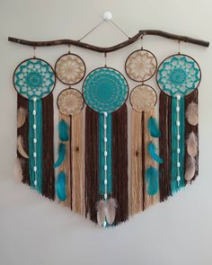 DIY Dream Catchers Decor Your bedroom; Home decor boho style; how to make a dream catchers; DIY wall decor ideas DIY Dream Catchers Decor Your bedroom; Home decor boho style; how to make a dream catchers; Doily Dream Catchers, Dream Catcher Decor, Dream Catcher Boho, Diy Wall Art, Diy Wall Decor, Boho Decor, Diy Dream Catcher Tutorial, Doily Art, Crochet Wall Hangings