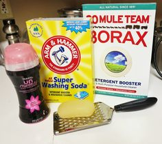 Homemade Laundry Detergent with Downy Unstoppables Recipe