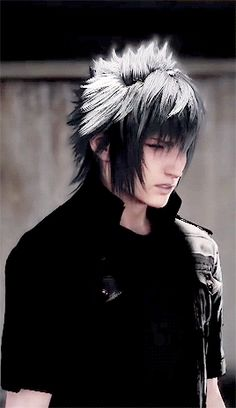 I have to say, I like the white in his hair