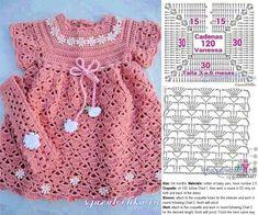 Smocking Patterns Baby Patterns Crochet Motifs Crochet Patterns Baby Girl Dresses Baby Dress Crochet For Kids Baby Knitting MacrameImage gallery – Page 307863324526319619 – Artofit Crochet Toddler Dress, Crochet Baby Dress Pattern, Crochet Baby Cardigan, Crochet Fabric, Crochet Motifs, Baby Girl Crochet, Crochet Baby Clothes, Crochet Patterns, Easy Crochet