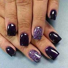 Purple And Black Nail Designs Ideas pin katie myers on nails purple nail art purple nail Purple And Black Nail Designs. Here is Purple And Black Nail Designs Ideas for you. Purple And Black Nail Designs black and purple nails with gold lig. Dark Purple Nails, Purple Nail Art, Purple Nail Designs, Dark Nails, Purple Shellac Nails, Purple Sparkle, Dark Blue, Deep Purple, Dark Color Nails