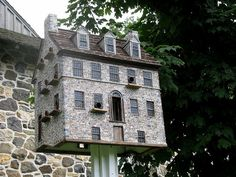 Birdhouses by downthestretch53, via Flickr