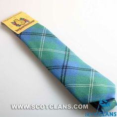 Clan Oliphant Ancient Tartan Wool Tie