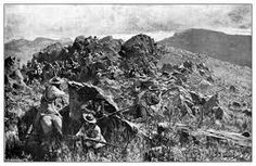 Boers in position on a mountain as at the Battle of Stormberg on December 1899 Cape Colony, John Hay, World Conflicts, Armed Conflict, The Siege, St Helena, Folk Music, African History, Archaeology