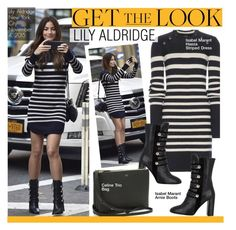 Get The Look- Lily Aldridge by kusja on Polyvore featuring polyvore fashion style Isabel Marant women's clothing women's fashion women female woman misses juniors GetTheLook celebstyle lilyaldridge