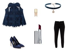"""Untitled #7376"" by mie-miemie ❤ liked on Polyvore featuring Jonathan Simkhai, Ted Baker, Rupert Sanderson, Natalie B, By Terry and Dolce&Gabbana"