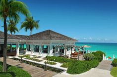 Colonial island style architecture. Dune restaurant, One & Only Ocean Club.