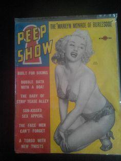 "dixie evans the ""marilyn monroe"" of burlesque pin up peep show rivista vintage   eBay"