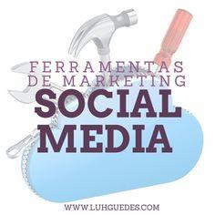 Você está procurando maneiras de melhorar o seu marketing de mídia social? Você quer novas ferramentas para simplificar o seu trabalho? Então não deixem de conferir estee artigo: http://www.luhguedes.com/ferramentas-de-marketing-social-media/ #ferramentas #midiassociais #socialmedia #tools