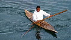 Un pêcheur inuit au Groenland