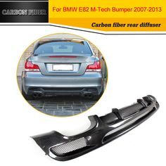 Carbon Fiber Racing Rear Diffuser Lip Spoiler for BMW M Sport 2 Door Only Convertible Non Hatchback. Subcategory: Auto Replacement Parts. 135i Coupe, Quad, Bmw 1 Series, Bmw Parts, Performance Parts, Carbon Fiber, Convertible, Automobile, Racing