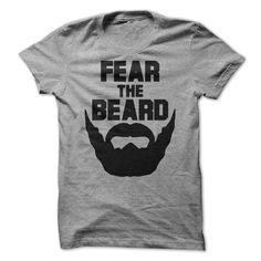 Fear The Beard T Shirt - awesomethreadz