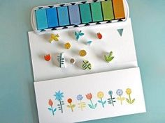 Emblazon everything you love with tiny hand-carved eraser stamps. | The 42 Definitively Cutest DIY Projects Of All Time