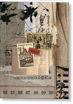 From Books Greeting Card by Carol Leigh