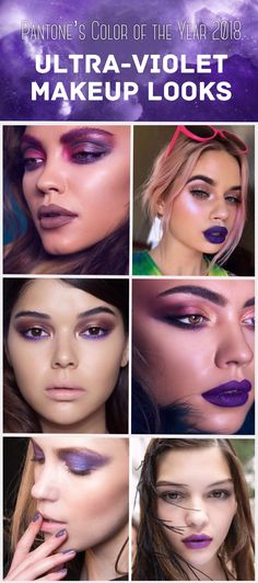 Pantone's Color of the Year 2018 is Ultra-Violet  Get the look with Natasha Denona's Palette 5 #pantonescoloroftheyear #ultraviolet #purplemakeup #ultravioletmakeup #pantonescoloroftheyear2018 #2018 #natashadenona