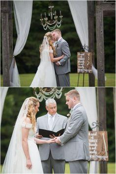 Rustic Chic Farm Wedding - ceremony