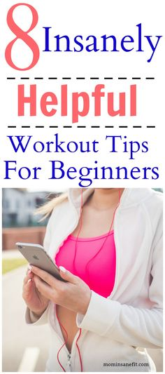 Follow these simple tips to change your fitness habits! || mominsanefit