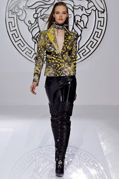 fashion-boots:  Versace rtw fw 2013 runway