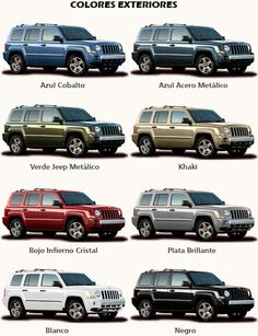 My current Grand Cherokee's name is Tank. I want a green Patriot to name Tank Jr.