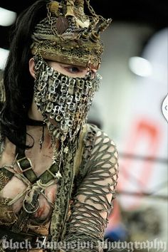 how else is a girl supposed to shield her face from arrows? We don't want scars on our faces!