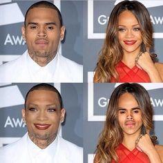 Photoshop Face Swaps (cringe!)