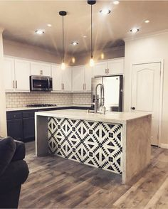 "3,195 Likes, 80 Comments - Audrey Crisp (@edesignbyaudrey) on Instagram: ""I love how they used cement tile here! This is my favorite pattern! Well done:…"""