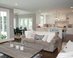 living by Oakley Home Builders http://www.houzz.com/photos/5350512/Oak-Street-contemporary-family-room-chicago
