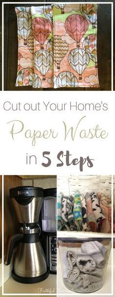 Cutting back on the paper waste in your own home really isn't as difficult as you might think. Check out my favorite ways to use less paper & save money!!