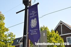 The University of Portland - St Johns, Portland, Oregon. Portland Neighborhoods, Columbia River, Going Home, Portland Oregon, Small Towns, The Neighbourhood, University, Spaces, Park