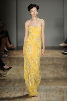 Jenny Packham at New York Fashion Week Spring 2015.
