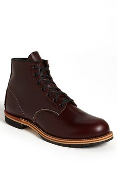 d4e91b0342ec Main Image - Red Wing  Beckman  Boot (Men) (Online Only) Black-cherry color  · Red Wing BootsBlack BootsEngineer BootsShoe CompanyDress ...