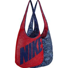 f23806dacd26 Image of Nike Graphic Reversible Tote UNIVERSITY RED OBSIDN (DPRYLB) - Nike  Gym Bags