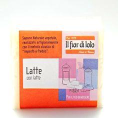 Jabón de Leche - Il fior di loto - 100gr, 1,90€ en Viva Nutrición - Hidratante y exfoliante para todo tipo de pieles.