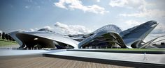 Istanbul 2020: Culture and Sports Park by Teoman AYAS
