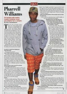 """""""Up all night to get lucky"""" means you don't want the night to end. You want that golden moment on repeat, like the music repeats - Pharrell Williams interview on @Michelle Rolling Stone"""