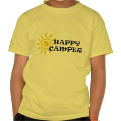Sunshine Happy Camper Kids T-shirt In our offer link above you will seeHow to          	Sunshine Happy Camper Kids T-shirt Online Secure Check out Quick and Easy...