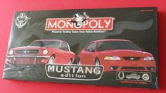 Amazon.com: Monopoly : Mustang Edition: Toys & Games