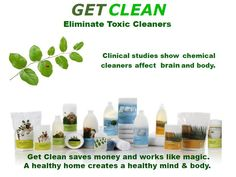 """Earth Day today..EVER consider """"Going Green?"""" Use safe, non-toxic products your home. Providing best environment JUST switch brands, U save TONS of money..help planet! U Spend $3400 ready to use cleaners to get the same amount of clean found in Get Clean Starter Kit! purchase this kit, make positive impact on planet: Keep 108# package waste from landfills..eliminating 248# greenhouse gas! THAT makes a difference! Protect your families health,help planet, & save money!   Retail Price: $115.32"""