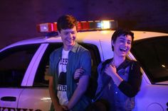 Noah (John Karna) and Audrey (Bex Taylor-Klaus) in Episode 107 of MTV's Scream. Description from galomagazine.com. I searched for this on bing.com/images