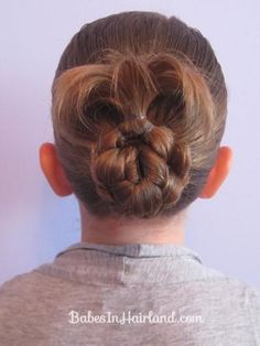DIY Wedding Hair : DIY A Bun for Shorter Hair