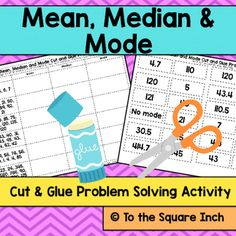 how to find mean median mode and range with fractions