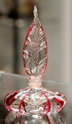 1920s Pairpoint Perfume Bottle
