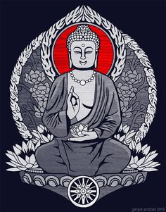 Gautama Buddha by GaryckArntzen on DeviantArt