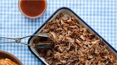 North Carolina-Style Pulled Pork with Vinegar Sauce