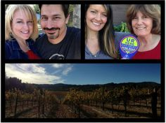 Sonoma County people in the vineyards