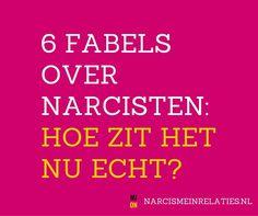 Er zijn nogal wat misverstanden over narcisten en is er nog altijd veel onwetendheid. Daarom hier de 6 meest gehoorde fabels over narcisten.