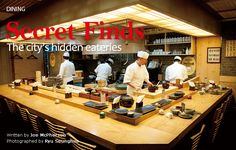 Secret Finds The city's hidden eateries
