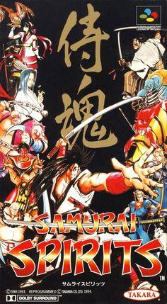 Samurai Spirits/Samurai Showdown, Super Famicom, SNK/Takara, 1993.