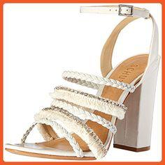Schutz Women's Milina Dress Sandal, Pearl, 8 M US - Sandals for women (*Amazon Partner-Link)